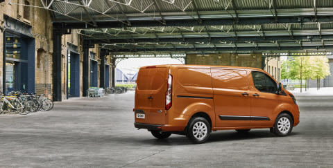 Nový Ford Transit Custom