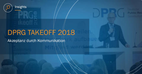 Der DPRG TakeOff2018 im Social Web