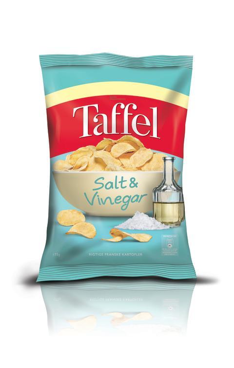 Taffel CHP Salt & Vinegar 175g