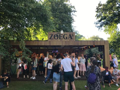 Zoégas satsar på en skräpfri festival under Way Out West i Göteborg