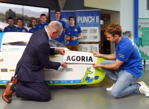 Agoria Solar Team gaat voor goud in Australië