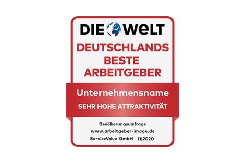 Die attraktivsten Arbeitgeber Deutschlands