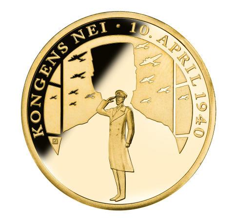 Verdens første minnemedalje i rettferdig gull er norsk