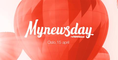 Velkommen til vårt store PR- og kommunikasjons-arrangement Mynewsday!