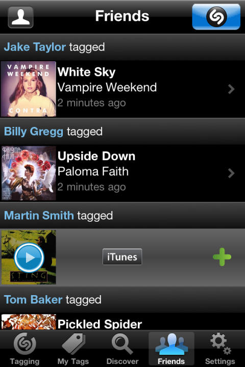 """Shazam Rolls Out New """"Shazam Friends"""" Feature in Apple iOS and Android Apps"""