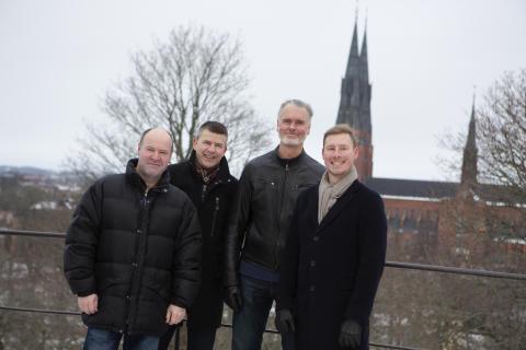 Fyra IT-experter tar Webstep till Uppsala