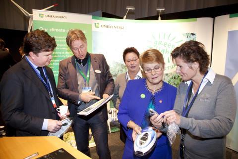 USA:s ambassadör initierar samarbete med Umeå Energi