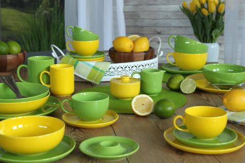 Zitrone & Limette - unsere Farben für das Frühjahr