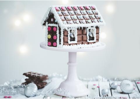 Så lyckas du med ditt chokladhus i jul