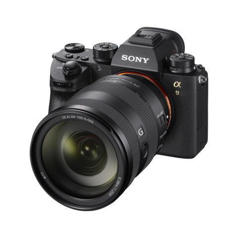 SEL24105G an Alpha 9 von Sony