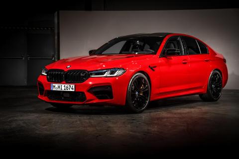 Här är nya BMW M5 och BMW M5 Competition