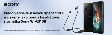 Unikněte realitě a nechte se pohltit špičkovým zážitkem ze zábavy díky nové Xperii 10 II, kterou si již nyní můžete předobjednat