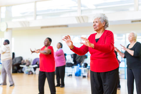 Dance, Older Adults