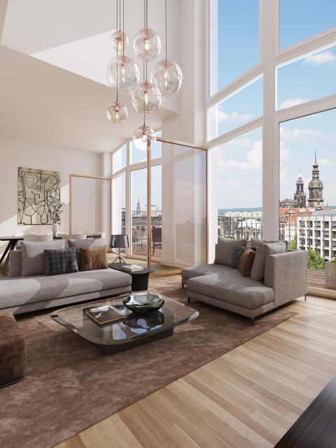 Visualisierung MaryAnn Apartments innen