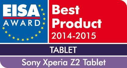 EISA Award 2014_Xperia Z2 Tablet von Sony