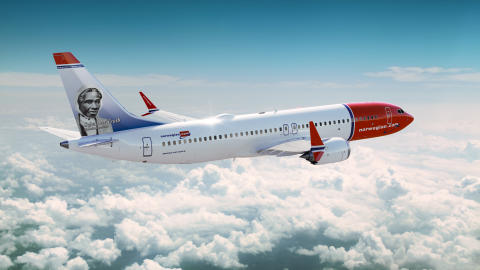 Sojourner Truth becomes latest American tailfin hero on Norwegian's new Boeing 737 MAX Aircraft