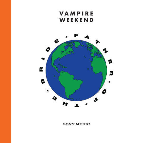 Vampire Weekend - Father of the Bride - Albumomslag