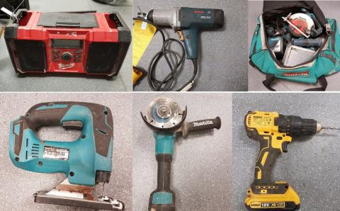 Are these tools yours? – Images released following stop check in Ashford.