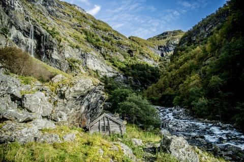 Ruhe findet der Autor Erling Kagge zurückgezogen in den Bergen von Blefjell in der Telemark.
