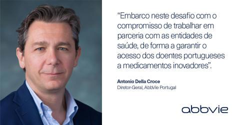 Antonio Della Croce é o novo diretor-geral da AbbVie Portugal