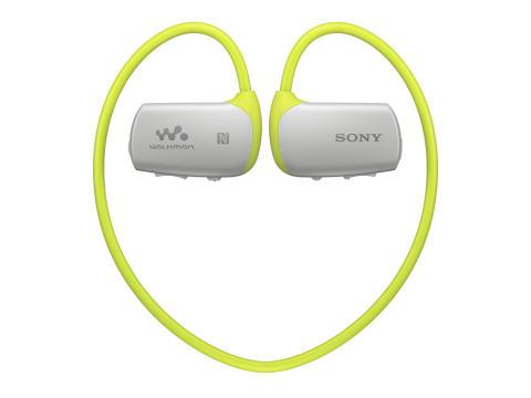 NWZ-WS613 von Sony_limettengrün_01