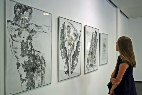"""Matthias Klemm stellt im Galerie Hotel """"Leipziger Hof"""" aus"""