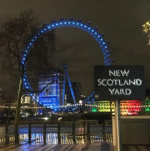 Met urges Londoners to stay safe by celebrating at home this New Year's Eve