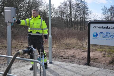 Vattentankning Helsingborg