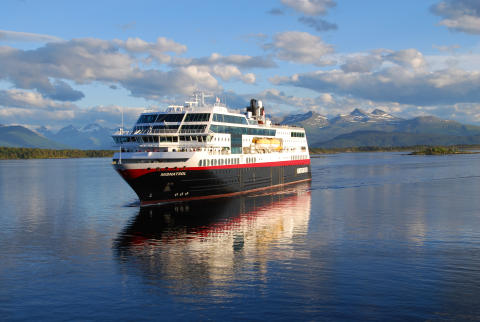 ​Hurtigruten og Arctic Race of Norway på samme lag