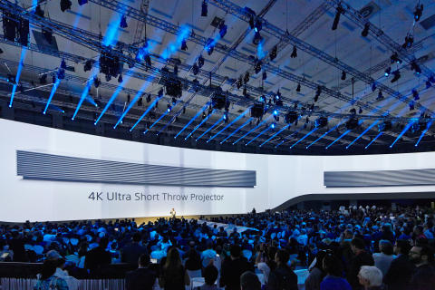 Sony IFA press conference