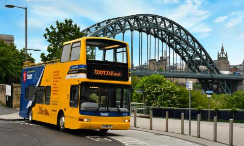 Go North East's NewcastleGateshead Toon Tour