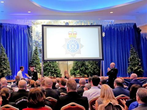 Police's  East Sussex Division celebrates a year of successes at annual awards ceremony