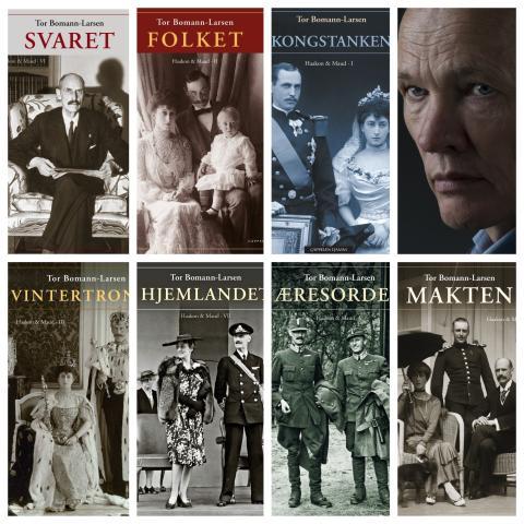 """Tor Bomann-Larsens storverk """"Haakon & Maud"""" skal bli TV-serie"""