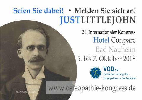 21. Internationaler Osteopathie-Kongress des VOD