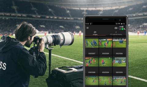 """O novo software """"Imaging Edge"""" permite otimizar a conetividade móvel e alargar as capacidades criativas das câmaras Sony"""