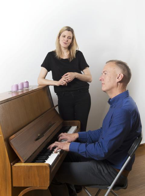 Alf Knutsen og Kristin Kjemphol Lohne