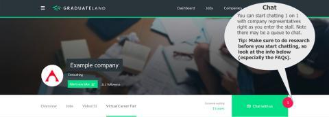 Guide til Virtual Career Fair