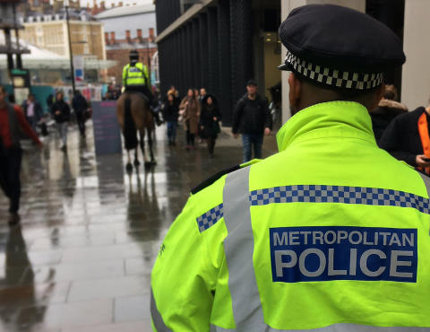 Arrest update from central London protests