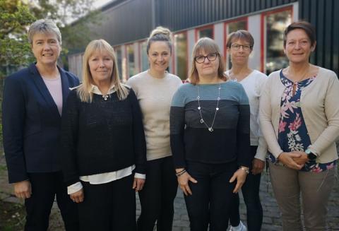 Projektgruppen för Nobla dagen vid Institutionen för hälsovetenskap på Luleå tekniska universitet: Åsa Engström, Katarina Leijon Sundqvist, Silje Gustafsson, Irene Vikman, Camilla Lindqvist och Maria Jansson.