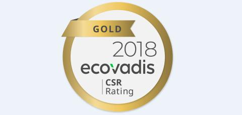 Carlson Wagonlit Travel rated Gold for the second consecutive year by EcoVadis for its responsible business program