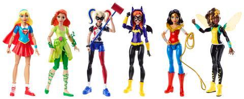 DC Super Hero Girls Action Doll Asst