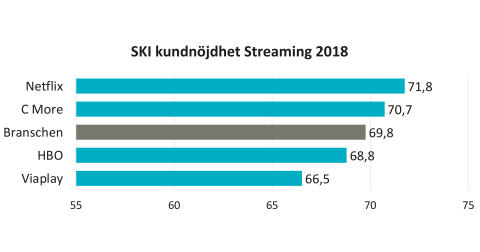 SKI kundnöjdhet Streaming 2018