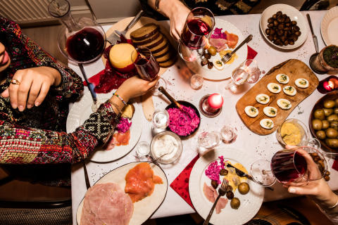 För 3 av 4 är alkohol inte viktigt på jobbets julbord