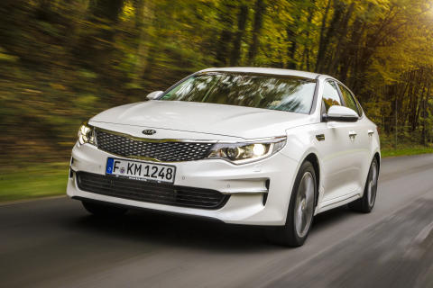 Helt ny KIA Optima sedan