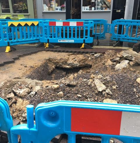 RAC welcomes the rollout of 'lane rental' concept to charge utility companies for digging up roads