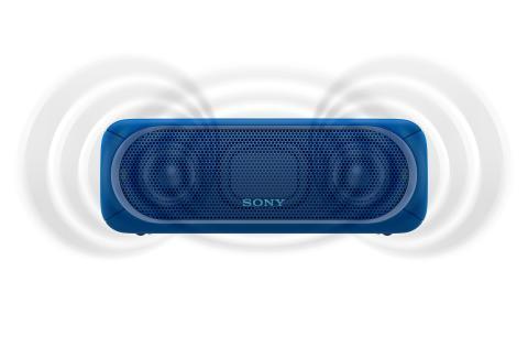 SRS-XB30 von Sony_blau_4
