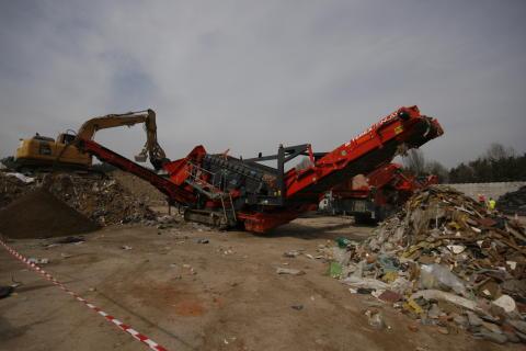 883+ med avfallslåda