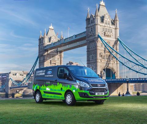 Ford siktar på ledartröjan för elbilar – testar eldrivna transportbilar i Europa