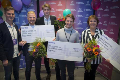 Smart idé för avloppsnät vinner startuptävling