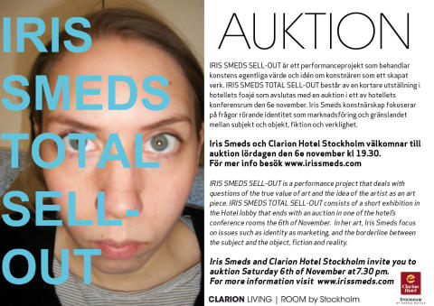 Auktion - Iris Smeds Total Sell-Out